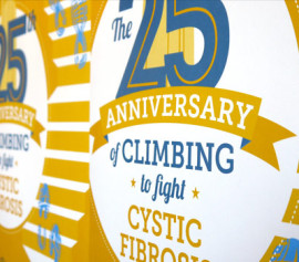 CF Foundation Stair Climb Poster